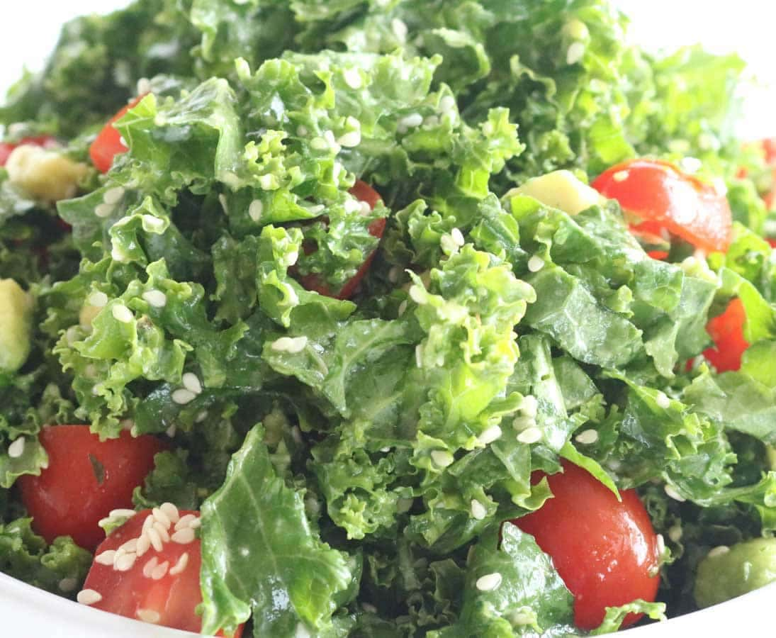 Kale & Lemon Salad