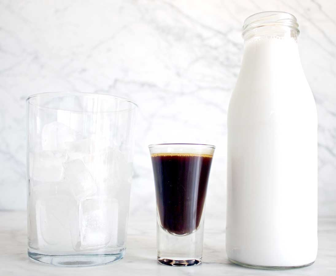healthy iced coffee