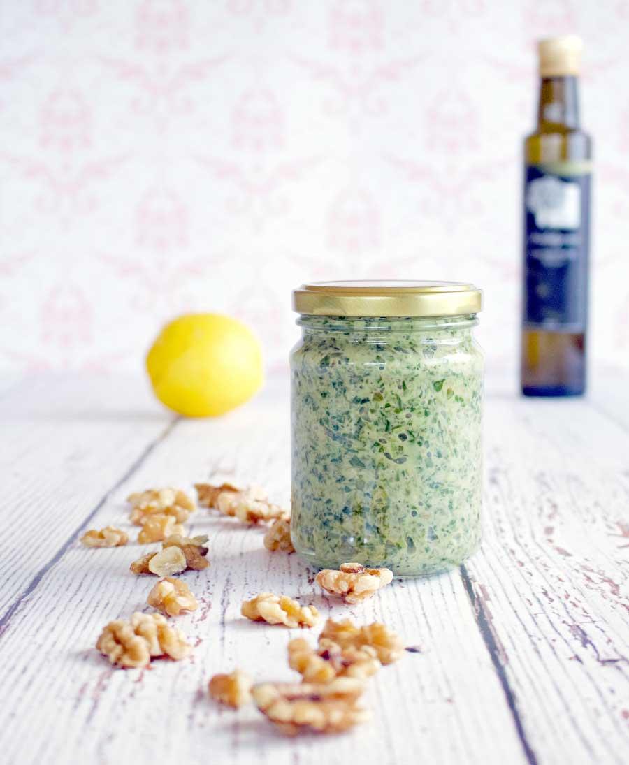 Pesto - full of health boosting ingredients!