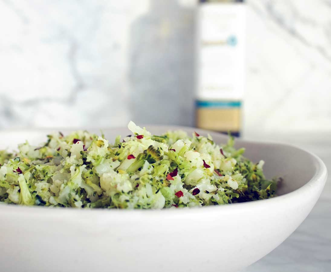 Nutritionist approved super healthy side dish!
